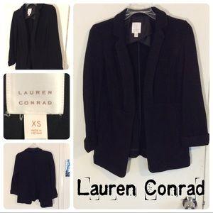 LC Lauren Conrad Black Sweater Jacket